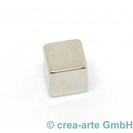 Würfelmagnet 5mm, 10 Stück