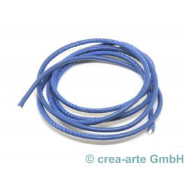 Nappaleder rund, 2.5mm, 1m, blau_6447