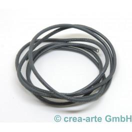 Nappaleder rund, 2.5mm, 1m, anthrazit_6453