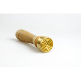 Perlenmacherwerkzeug Stempel mit feiner Spirale_6843