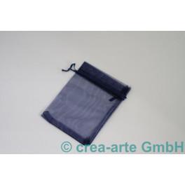 Organzabeutel dunkelblau, 9x12cm, 10 Stück_6891