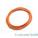 Baumwollriemchen 2mm, 1m, orange_7003