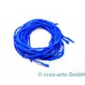 Habotai Seidenband königsblau 3 Stück_7092