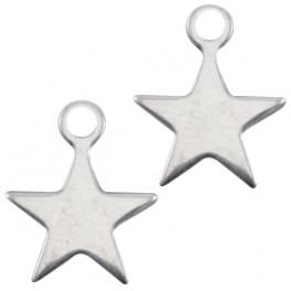 Edelstahlhänger Stern mit Öse_7338