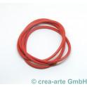 Nappaleder rund, 4mm, 1m, rot