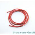 Nappaleder rund, 2.5mm, 1m, rot