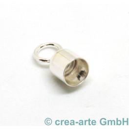 Endkappen, 4mm, 925er Silber_7372