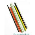 Borosilikatsglas Farbenmix, 9 Farben