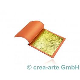 Blattgold 22 Karat 25 Blatt 93x93mm_787