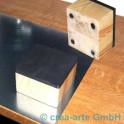 Graphitarbeitsblock 12x12cm magnetisch