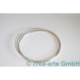 Silberdraht viereckig 0,8x1mm 1 Meter_819