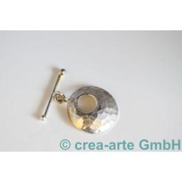 Knebelverschluss 925er Silber 1St. 35mm_849