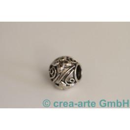 Blumenperle Silber 925 D=12mm 10mm_949